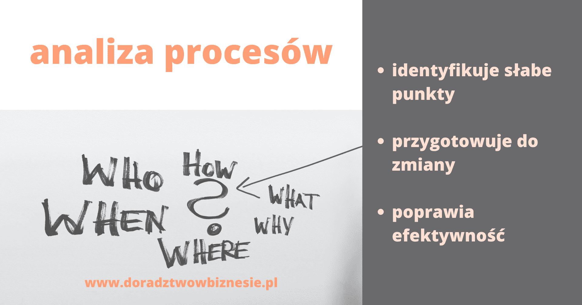 analiza procesów biznesowych